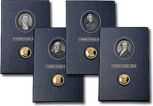 2008 Presidential $1 coin Historical Signature Sets