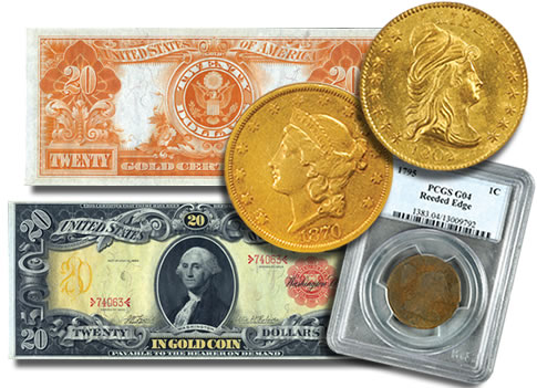 Bowers and Merena Auctions Rare Coins and Currency