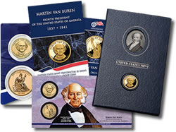 Martin Van Buren Presidential Dollar Coin Products