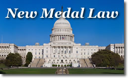 Medal Legislation on Capital Building
