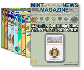 Mint Error News Magazine #25