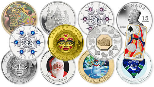Royal Canadian Mint Latest 2008 Coin Products