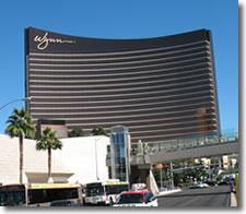 Wynn luxury hotel and casino