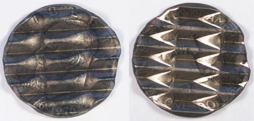 """1976 Bicentennial design Eisenhower dollar """"waffle coin"""""""