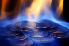 Coins Burning