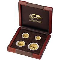 2008 American Buffalo Gold Uncirculated Four-Coin Set