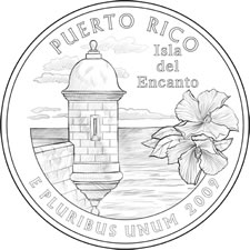 2009 Commonwealth of Puerto Rico Quarter Design