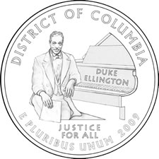 2009 District of Columbia Quarter Design