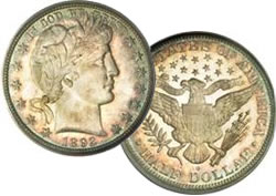 Example of rare coin for auction at FUN