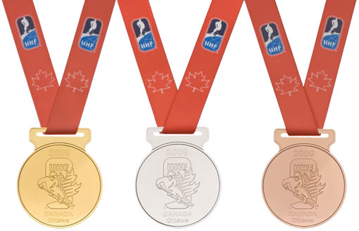 IIHF World Junior Hockey Championship medals