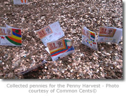 Penny Harvest cents