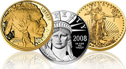 US Mint American Eagle and Buffalo Bullion Coins