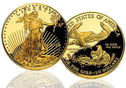 2008-W American Eagle Gold Proof Coin