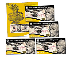 First Series 2004A $10 Single Notes for Collectors