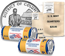 DC Quarter Product Options from the US Mint