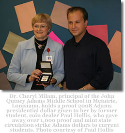 Dr. Cheryl Milam & Paul Hollis