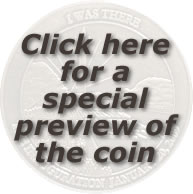 Preview for I WAS THERE Obama Inaugural Keepsake Coin