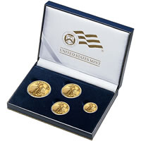 2008 American Eagle Gold Uncirculated Four-Coin Set