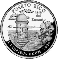 2009 Commonwealth of Puerto Rico Quarter