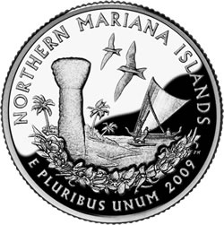 2009 Commonwealth of the Northern Mariana Island Quarter