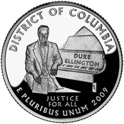 2009 District of Columbia Quarter