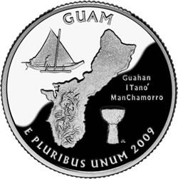 2009 Guam Quarter