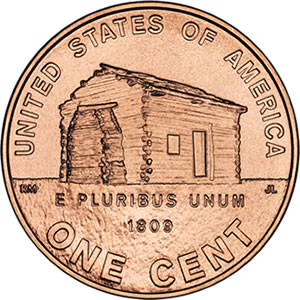 2009 Lincoln Penny: Birth and Childhood Design