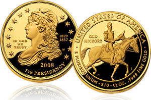 Jackson's Liberty First Spouse Gold Proof Coin