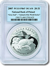 PCGS certified Polish Mint coin