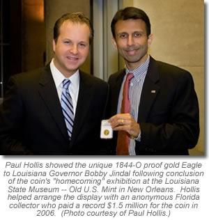 Paul Hollis and Louisiana Governor Bobby Jindal