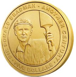 Sir Donald Bradman Commemorative Coin