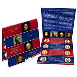 2009 Uncirculated Presidential Dollar Coin Set
