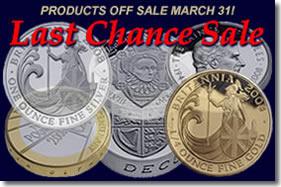The Royal Mint Last Chance Sale