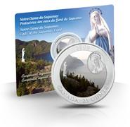 2009 25-Cent Notre-Dame-Du-Saguenay Coloured Coin