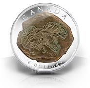 2009 $4 Silver Coin – Tyrannosaurus Rex