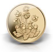 2009 Pure Gold $350 Pitcher Plant Coin