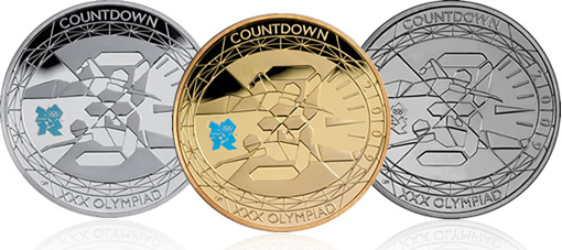 2009 UK Countdown to London 2012 £5 Coins