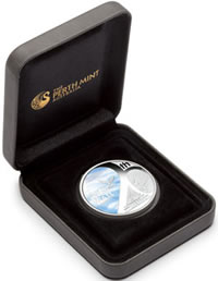 Fall of the Berlin Wall Silver Coin and Case
