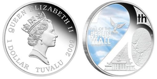 Fall of the Berlin Wall Silver Proof Coin
