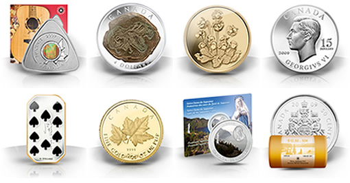 Royal Canadian Mint 2009 Collector Coins - Second Product Releases