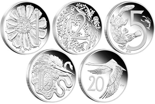 1966 Australian Decimal Coin Design Set