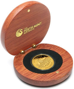 2009 Perth Mint Gold Proof Sovereign packaging