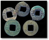 Chinese Han Dynasty coins