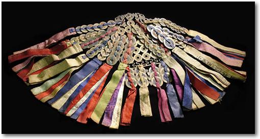 Korean wedding ceremonial chatelaine,