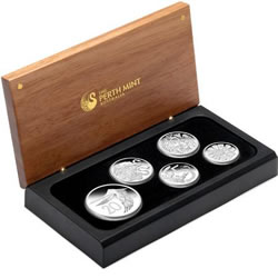 Packaging for 1966 Australian Decimal Coin Design Set