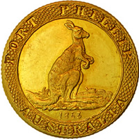 Port Phillip Kangaroo Office Gold Coin
