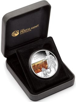 Battle of Cannae 216 BC 1 OZ Silver Proof Coin Packaging