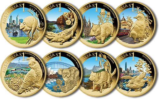 Celebrate Australia 2009 Coins