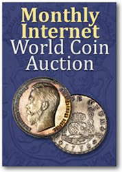 Heritage Monthly World Coin Internet Auctions