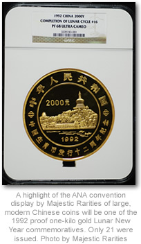 1992 1K Gold Lunar New Year Chinese Coin